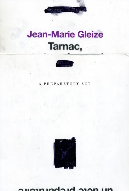 Tarnac, a preparatory act