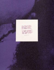 French Unpublished Poems & Facsimile 1958-1960